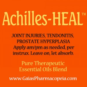 achilles-heal™ essential oils for tendon joint injuries | | Copyright © GaiasPharmacopeia.com