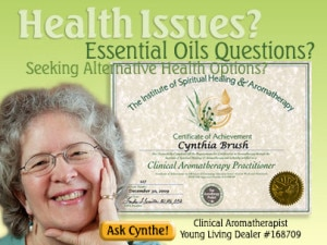 cynthe brush certified clinical aromatherapist certificate graphic | Copyright © Cynthe Brush www.essentialoilsforhealing.com www.gaiaspharmacopeia.com www.gaiaspharmacy.com