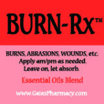 burn-rx™ icon for natural burn remedy essential oils blend