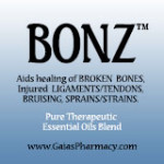 Bonz™ icon for essential oil blend to heal broken bones naturally