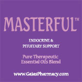 Masterful™ essential oil blend for natural endocrine and pituitary support