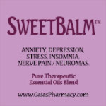 Icon for Sweet-Balm™ essential oils blend remedy for anxiety, depression, stress, insomnia, nerve pain, neuromas