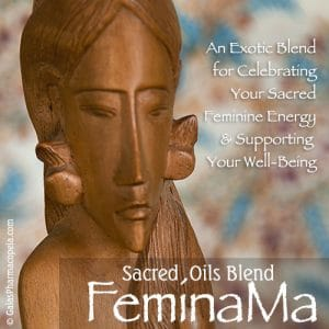 FeminaMa™ oils blend enhances the sacred feminine | Photo Copyright © Cynthe Brush www.essentialoilsforhealing.com www.gaiaspharmacopeia.com www.gaiaspharmacy.com
