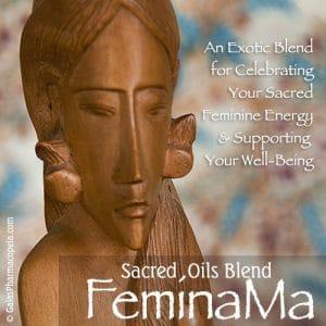 FeminaMa™ oils blend enhances the sacred feminine | Photo Copyright © Cynthe Brush www.essentialoilsforhealing.com www.gaiaspharmacopeia.com www.gaiaspharmacy.com