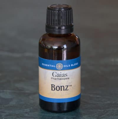 Bonz essential oils bottle